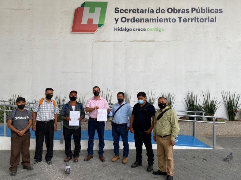 Alcaldía, Ixcatepec y Acuatempa, Gestionan obras en Pachuca