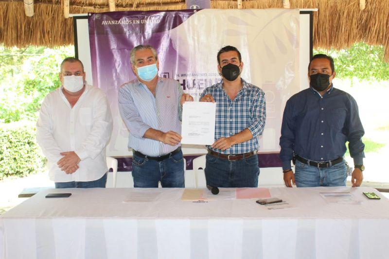 Alcalde logra cambio de tarifa de CFE para Huejutla