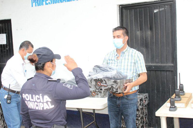 Policía de Huejutla la mejor de la región: Daniel Andrade