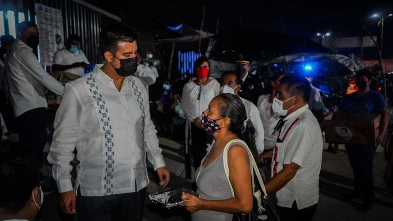 ¡Vivan los héroes de la salud!: Presidente
